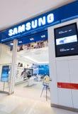 Samsung sklep w pawilonu centrum handlowym, Kuala Lumpur Obraz Royalty Free