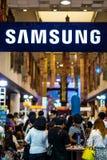 Samsung sluit zich aan bij de tentoonstelling in Bangkok Stock Afbeeldingen