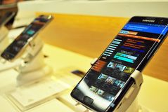 Samsung-smartphone royalty-vrije stock foto