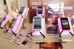 Samsung smartpones stock fotografie