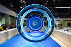 Samsung stand in the Photokina Exhibition Stock Photo