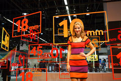Samsung stand in the Photokina Exhibition Royalty Free Stock Photos