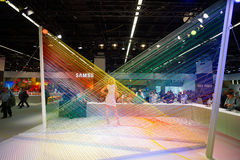 Samsung stand in the Photokina Exhibition Royalty Free Stock Images