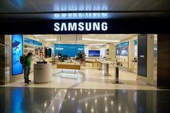 Samsung store Stock Image