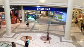 Samsung store inside shopping mall Stock Photos