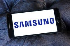 Samsungs-Logo Lizenzfreies Stockfoto