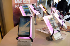 Samsungs-smartpones lizenzfreie stockfotos