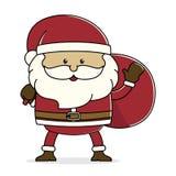 Samta Claus Image stock