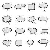 samtal för ballongbubblaanförande royaltyfri illustrationer