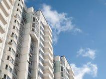 samtida bostadsspain för arkitekturbarcelona byggnad stil Royaltyfri Bild