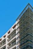Samtida byggnadsvägg Arkivfoton