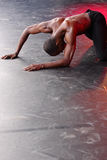 samtida dansare royaltyfri foto