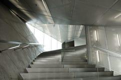 samtida detaljinterior för arkitektur arkivfoto