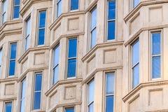 Samtida facade Arkivbilder