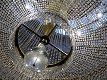 Samtida glass ljuskrona Royaltyfri Foto