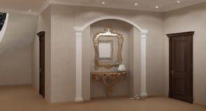 Samtida Interior Royaltyfri Foto