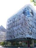 Samtida konstbyggnad av Manny Coupechoux på ön av Nantes royaltyfri fotografi