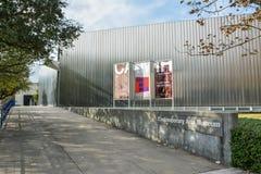 Samtida konstmuseum som buidling i Houston, TX royaltyfri bild