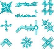 samtidaa former royaltyfri illustrationer