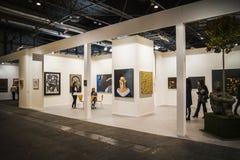 Samtidaa konsten ganska ARCO börjar dess 33rd upplaga. Madrid 2 Arkivbilder