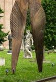 Samtidaa konsten i det trädgårds- medborgerliga museet av enslingarna Padua, Arkivfoto