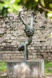 Samtidaa konsten i det trädgårds- medborgerliga museet av enslingarna Padua Royaltyfri Foto