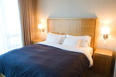 samtidat hotellrum Fotografering för Bildbyråer