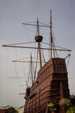 Samudera maritimt museum i Malacca royaltyfri bild