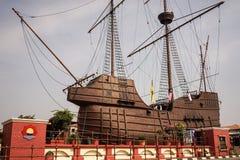 Samudera maritimt museum i Malacca royaltyfri fotografi