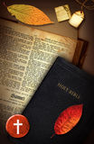 Samuel. A vintage Holy Bible collage with the book of Samuel Stock Image