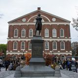 Samuel Adams Statue royalty-vrije stock fotografie