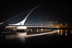 Samuel Beckett Bridge 1. Samuel Beckett Bridge Dublin Ireland royalty free stock photos