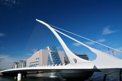 Samuel Beckett Bridge Stock Foto