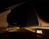 Samuel Beckett bridge. Abstract shot of the Samuel Beckett bridge , the new harp shaped bridge of Dublin royalty free stock photography
