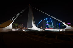 Samuel Beckett Bridge 2. Samuel Beckett Bridge Dublin Ireland stock photos