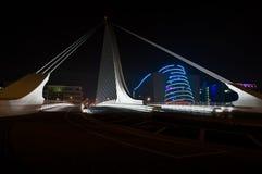 Samuel Beckett Bridge 2. Samuel Beckett Bridge Dublin Ireland Stock Photos