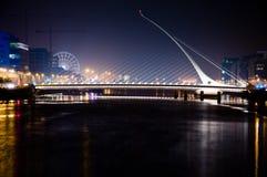 Samuel Beckett Bridge 3. Samuel Beckett Bridge, Dublin, Ireland Stock Photos