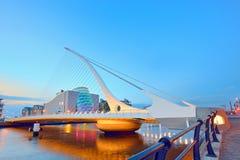 Samuel Beckett Bridge Royalty-vrije Stock Afbeelding