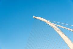 Samuel Beckett bridge close up Royalty Free Stock Images