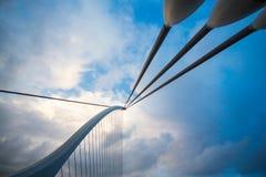 Samuel Beckett Bridge Detail Arkivfoto