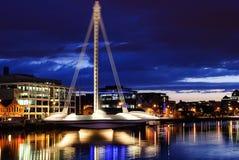 Samuel Beckett Bridge, Dublín Fotografía de archivo
