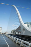 The Samuel Beckett Bridge in Dublin Stock Photography
