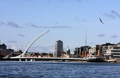 Samuel Beckett Bridge, Dublin Royalty Free Stock Photography