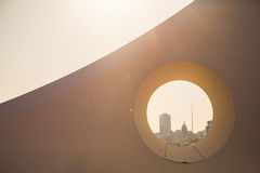 Samuel Beckett Bridge Dublin Arkivbilder