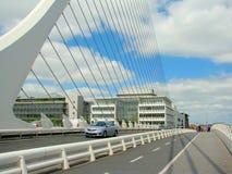 Samuel Beckett Bridge. In Dublin Stock Photography
