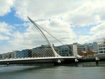 Samuel Beckett Bridge Stock Images