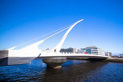 Samuel Beckett Bridge Dublin Stock Image