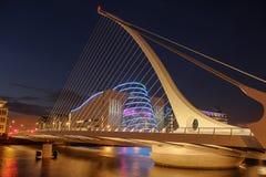 Free Samuel Beckett Bridge. Dublin. Ireland Stock Photography - 26159032