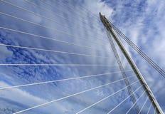 Samuel Beckett Bridge, Dublin, Ireland. Stock Images