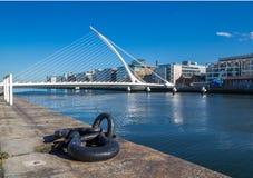 Samuel Beckett Bridge, Dublin Stock Photos